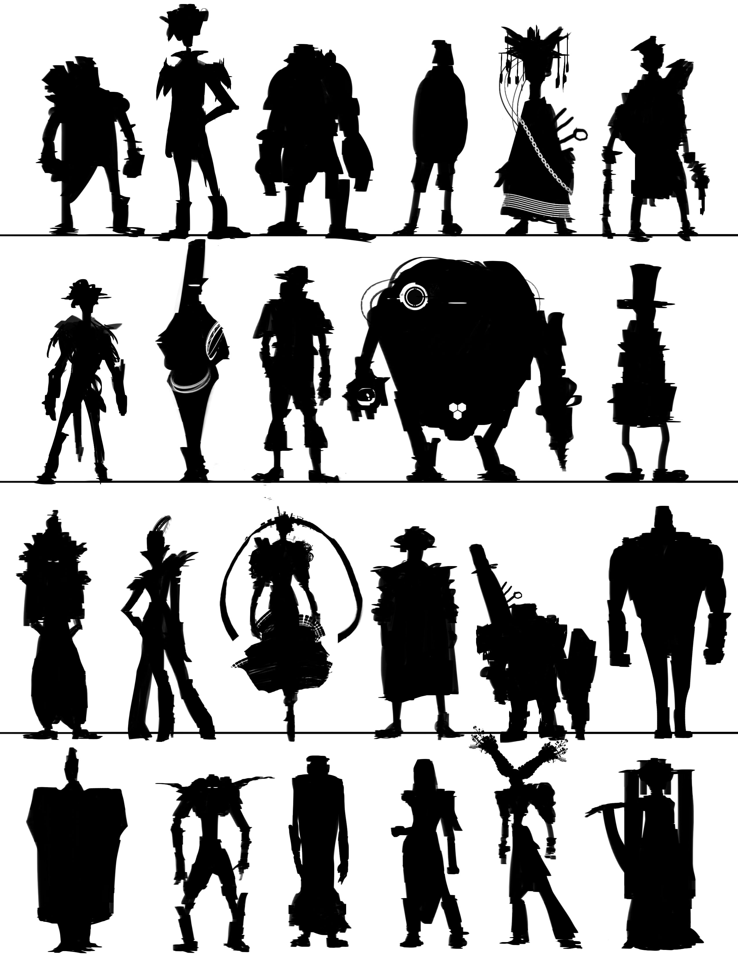 Character Design Silhouette : Best silhouette images on pinterest character design