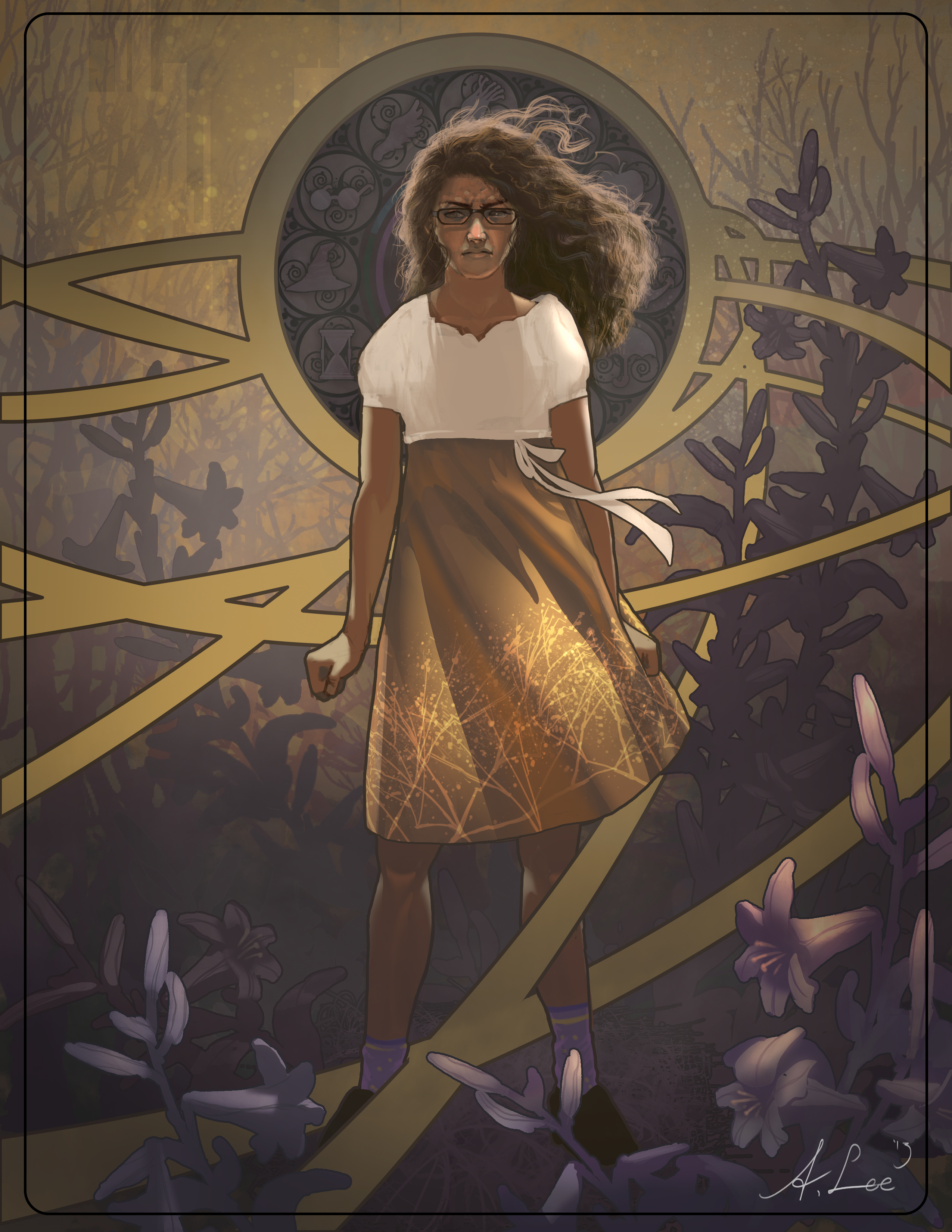 Meg Murray from A Wrinkle in Time | Absolutely Abe